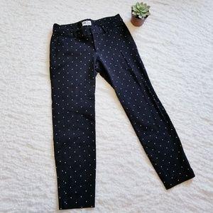 Pixie Polka Dot Stretch Dress Pants size 8R